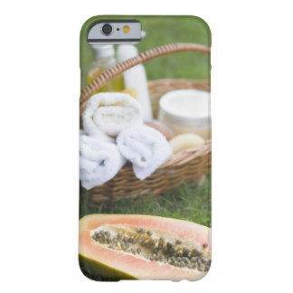 Close-up of papaya massage therapy treatment barely there iPhone 6 case