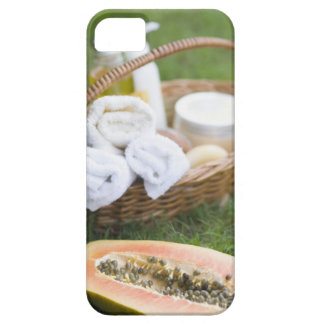 Close-up of papaya massage therapy treatment iPhone 5 cover