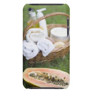 Close-up of papaya massage therapy treatment iPod touch Case-Mate case