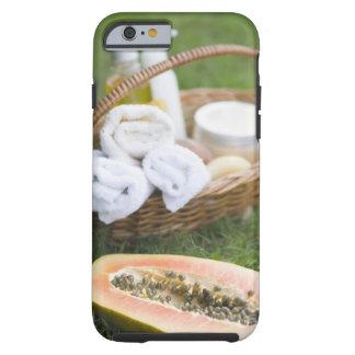 Close-up of papaya massage therapy treatment tough iPhone 6 case