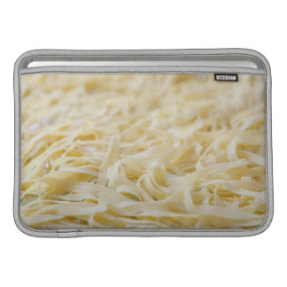 Close up of pasta noodles MacBook sleeve