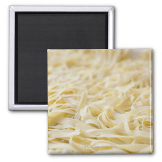 Close up of pasta noodles magnet