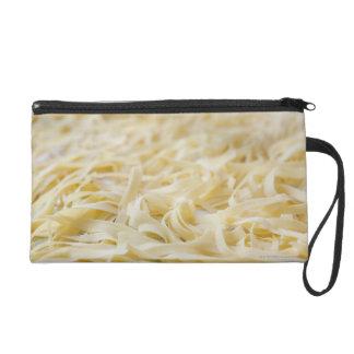 Close up of pasta noodles wristlet