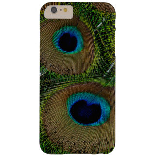 Close-up of peacock feathers barely there iPhone 6 plus case