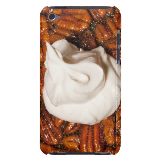 close up of pecan pie with whipped cream barely there iPod case