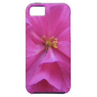 Close up of Pink Flower Tough iPhone 5 Case