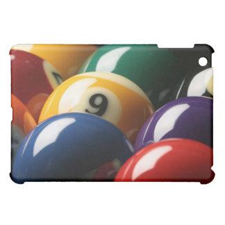 Close Up of Pool Balls iPad Mini Case