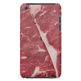 Close-up of raw steak iPod touch case