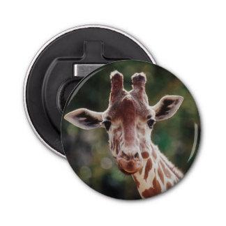 Close up of Reticulated Giraffe Bottle Opener