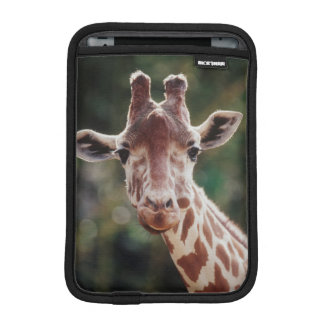 Close up of Reticulated Giraffe iPad Mini Sleeve