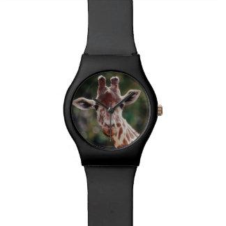 Close up of Reticulated Giraffe Watch