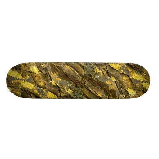 Close-up of rock formations, Cascades, Washington Skateboard Decks