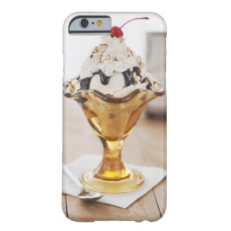 Close up of sundae with cherry on top barely there iPhone 6 case
