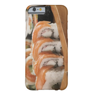 Close-up of sushi in a platter barely there iPhone 6 case
