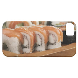 Close-up of sushi in a platter iPhone 5 case