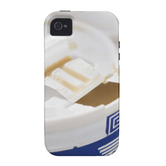 Close up of take out coffee Case-Mate iPhone 4 case