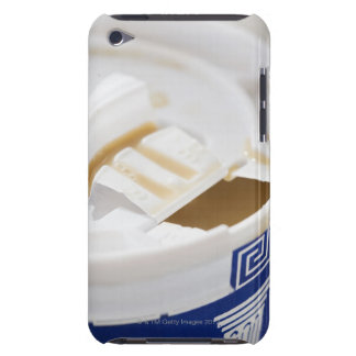 Close up of take out coffee iPod Case-Mate case