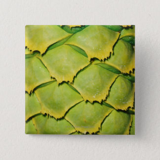 Close-up of texture and pattern of tropical tree 15 cm square badge