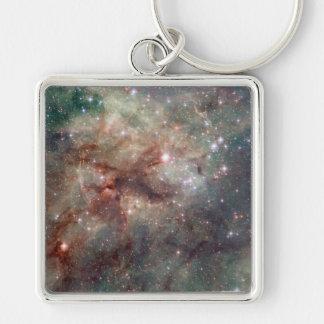 Close-up of the Tarantula Nebula Key Chains