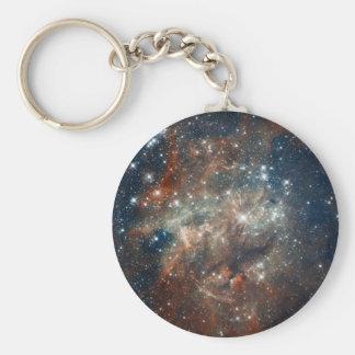 Close-up of the Tarantula Nebula Key Chain