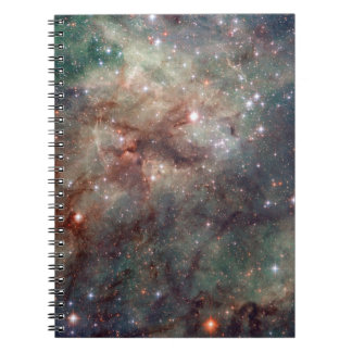 Close-up of the Tarantula Nebula Note Books