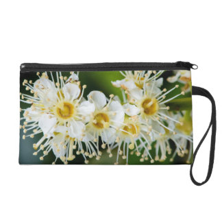 Close-up of tiny flowers wristlet