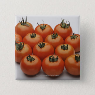 Close-up of tomatoes 15 cm square badge