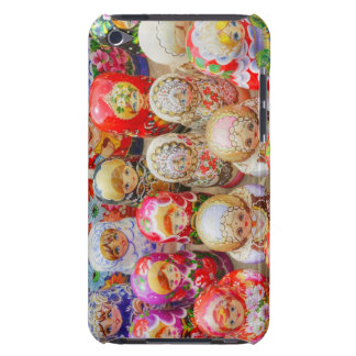 Close-up of traditional Russian nested dolls iPod Case-Mate Case