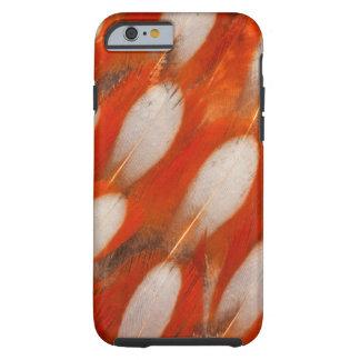 Close Up Of Tragopan Feathers Tough iPhone 6 Case