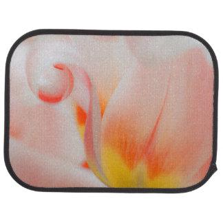 Close-up of tulip 3 car mat