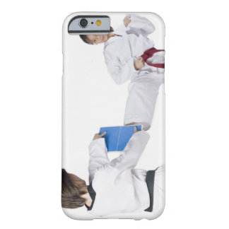 Close-up of two young women practicing 2 barely there iPhone 6 case