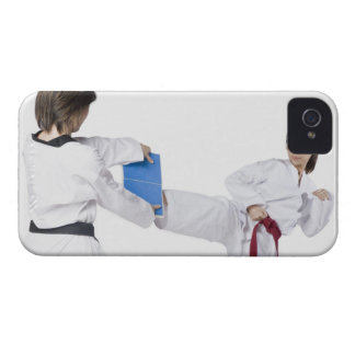 Close-up of two young women practicing 2 Case-Mate iPhone 4 case