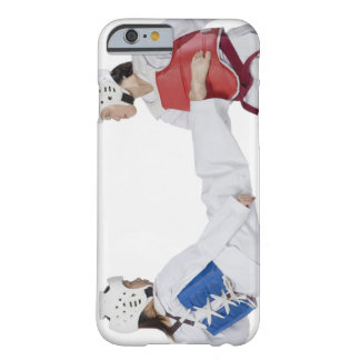 Close-up of two young women practicing barely there iPhone 6 case