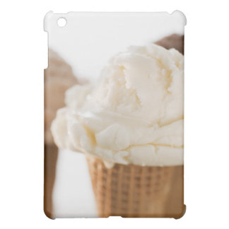 Close up of various ice cream cones iPad mini cover