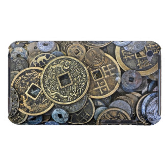 Close up of Vietnamese coins Barely There iPod Cases