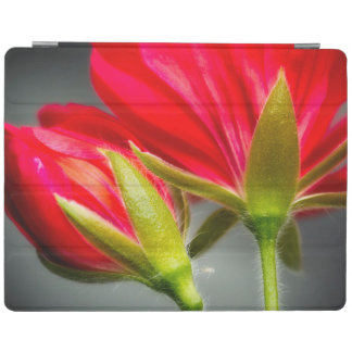Close-up of vining geranium from back of flower iPad cover