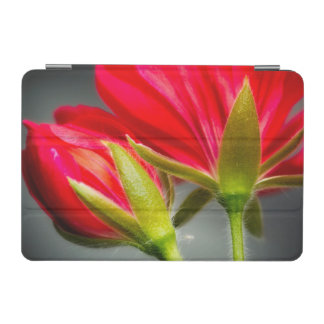 Close-up of vining geranium from back of flower iPad mini cover