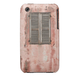 Close-up of Wall and Window with Closed Case-Mate iPhone 3 Cases