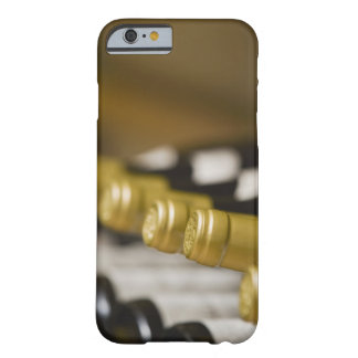 Close up of wine bottle tops barely there iPhone 6 case
