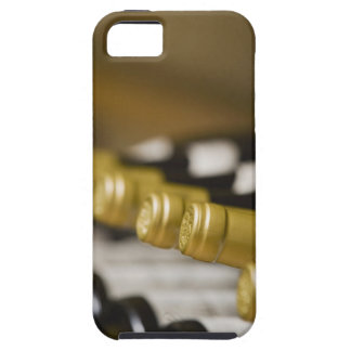 Close up of wine bottle tops iPhone 5 cover