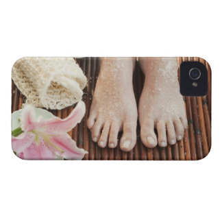 Close-up of womans feet having spa treatment iPhone 4 Case-Mate case