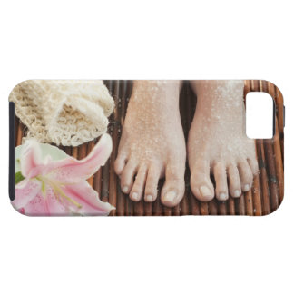 Close-up of womans feet having spa treatment iPhone 5 cover