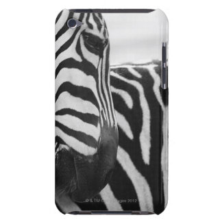 Close-up of zebra face and shoulder barely there iPod case