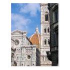 Close up on Florence. Postcard