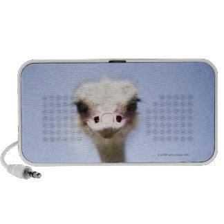 Close up Ostrich head Travel Speaker