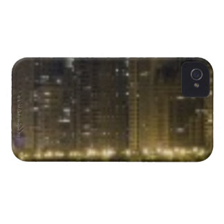 Close-up panoramic view of the Chicago lakefront iPhone 4 Case-Mate Cases