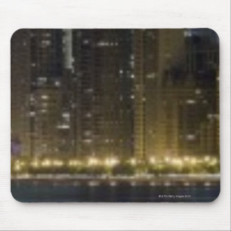 Close-up panoramic view of the Chicago lakefront Mouse Pad