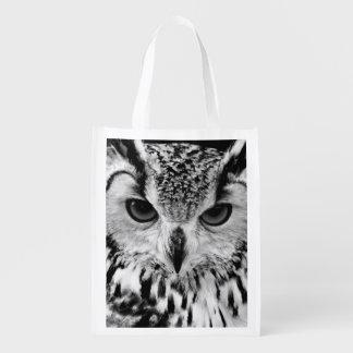 Close Up Portrait Of Eurasian Eagle-owl
