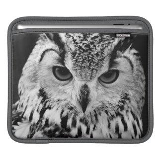 Close Up Portrait Of Eurasian Eagle-owl iPad Sleeve