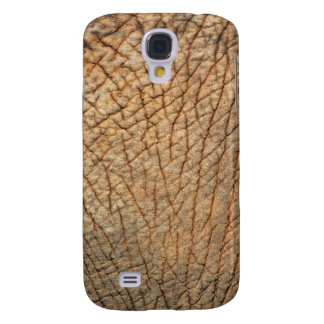 Close-up shot of an Elephant's skin Galaxy S4 Case